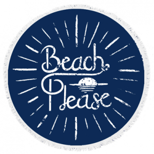 Beach-Please-Round-Towel